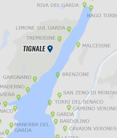 Tignale Informationen Zu Tignale Am Gardasee