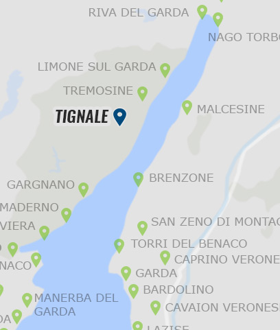 tignale gardasee karte Tignale – Informationen zu Tignale am Gardasee auf Gardasee.at tignale gardasee karte