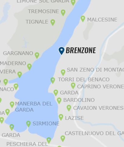 karte brenzone gardasee Brenzone • Informationen zu Brenzone am Gardasee »