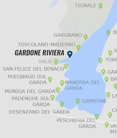 gardasee karte Gardone Riviera – Informationen zu Gardone Riviera auf Gardasee.at