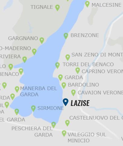 gardasee karte orte Lazise – Informationen zu Lazise am Gardasee auf Gardasee.at gardasee karte orte