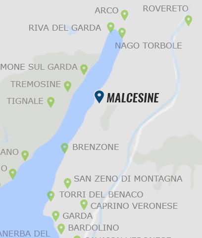 gardasee rovereto karte Malcesine • Informationen zu Malcesine am Gardasee »