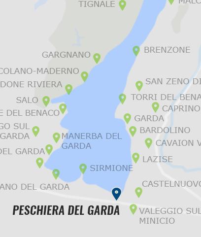 gardasee peschiera karte Peschiera del Garda • Informationen zu Peschiera am Gardasee »