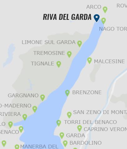 gardasee karte garda Riva del Garda • Informationen zu Riva am Gardasee »