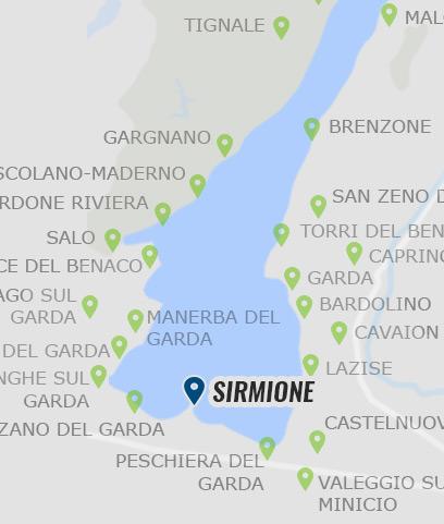 gardasee karte sehenswürdigkeiten Sirmione • Informationen zu Sirmione am Gardasee »