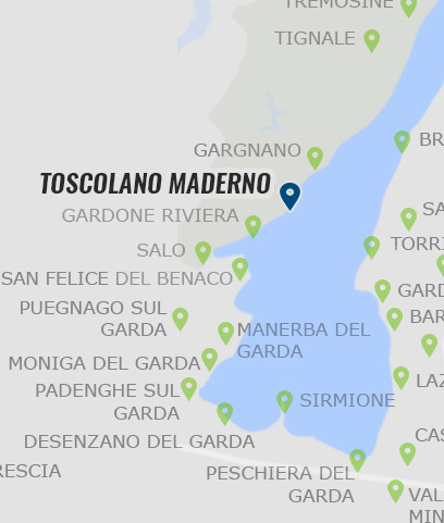 gardasee toscolano karte Toscolano Maderno • Infos zu Toscolano Maderno am Gardasee »