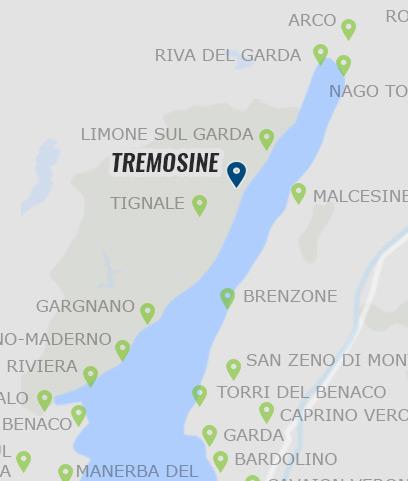 karte gardasee limone sul garda Tremosine • Informationen zu Tremosine am Gardasee »