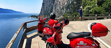 Vespa Touren am Gardasee
